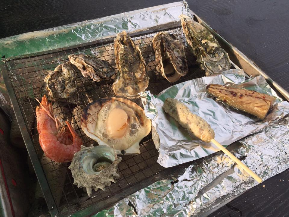 たくさんの人たちの想いが込められた牡蠣奉行となりました。【出張牡蠣小屋】牡蠣奉行in津田沼パルコ