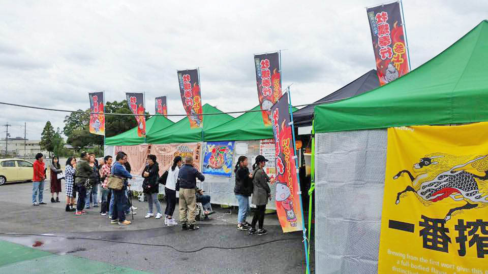大行列ができるほど賑わいました!【出張牡蠣小屋】牡蠣奉行in奈良(今市)