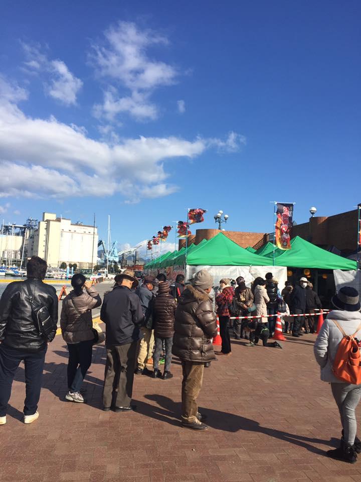 本日オープンしました!【出張牡蠣小屋】牡蠣奉行in清水マリンパーク